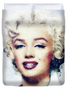 Marilyn Monroe, Actress And Model Duvet Cover