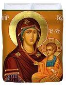 Mary Saint Art Duvet Cover