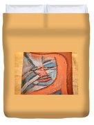 Mask - Tile Duvet Cover