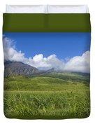 Maui Haleakala Crater Duvet Cover