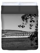 Mcnary Dam Duvet Cover