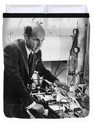 Melvin Calvin, American Chemist Duvet Cover