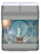 Memorial Day Duvet Cover