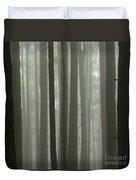 Misty Forest Duvet Cover