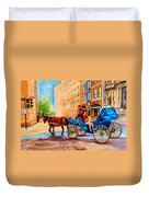 Montreal Paintings Duvet Cover