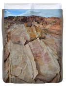 Morning In Valley Of Fire State Park Duvet Cover