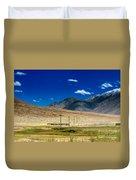 Mountains Of Leh Ladakh Jammu And Kashmir India Duvet Cover