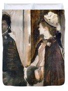 Mrs Jeantaud In The Mirror  Duvet Cover