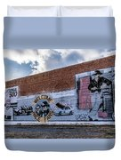 Mural - Downtown Bristol Tennessee/virginia Duvet Cover
