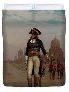 Napoleon In Egypt Duvet Cover