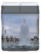 National World War II Memorial Duvet Cover