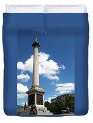 Nelsons Column Duvet Cover