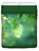 Oak Branch Duvet Cover