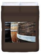Oak Wine Barrel Duvet Cover