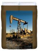 Oil Rig Duvet Cover