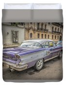 Old Car Duvet Cover