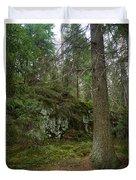Old Forest In Kauppi Tampere Duvet Cover