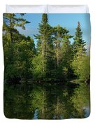 Ontario Nature Scenery Duvet Cover by Oleksiy Maksymenko