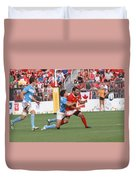 Pamam Games Men's Rugby 7's Duvet Cover