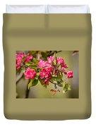 Paradise Apples Flowers Duvet Cover