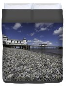 Penarth Pier 2 Duvet Cover