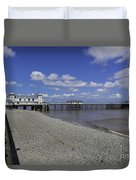 Penarth Pier 3 Duvet Cover