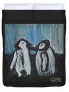 Penguins Duvet Cover