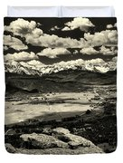 Pleasant Valley Colorado Duvet Cover