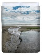 Plymouth, Massachusetts, Beach Duvet Cover