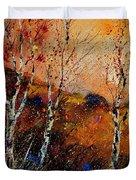 3 Poplars Duvet Cover