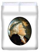 President Thomas Jefferson Duvet Cover
