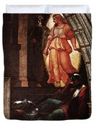 Raphael The Liberation Of St Peter  Duvet Cover
