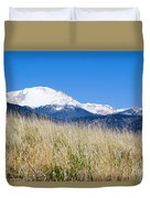 Red Rock Canyon Open Space Park Duvet Cover