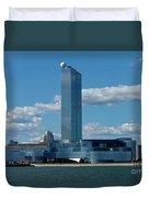 Revel Casino In Atlantic City, New Jersey Duvet Cover