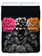 3 Roses Duvet Cover