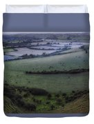 Roundway Hill - England Duvet Cover