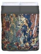 Rust Closeup  Duvet Cover