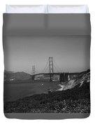 San Francisco - Golden Gate Bridge Duvet Cover
