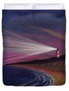 Sankaty Head Lighthouse Nantucket Duvet Cover