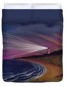 Sankaty Head Lighthouse Nantucket Duvet Cover