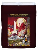 Science Fiction Magazine Duvet Cover
