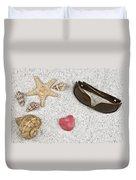 Seastar And Shells Duvet Cover by Joana Kruse
