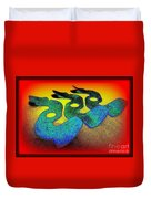3 Serpents In The Sand  Duvet Cover