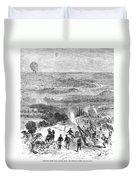 Siege Of Paris, 1870 Duvet Cover