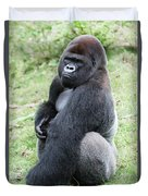 Silverback Gorilla Duvet Cover