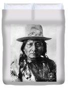 Sitting Bull (1834-1890) Duvet Cover