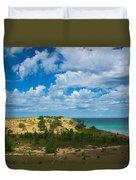 Sleeping Bear Dunes Duvet Cover