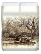 South Bridge - Central Park Duvet Cover
