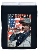 Spanish-american War, 1898 Duvet Cover