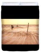S.s Dicky Shipwreck Duvet Cover